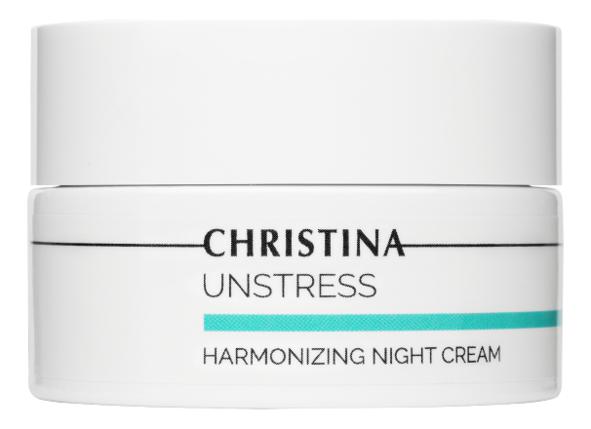 Питательный ночной крем для лица Unstress Harmonizing Night Cream 50мл