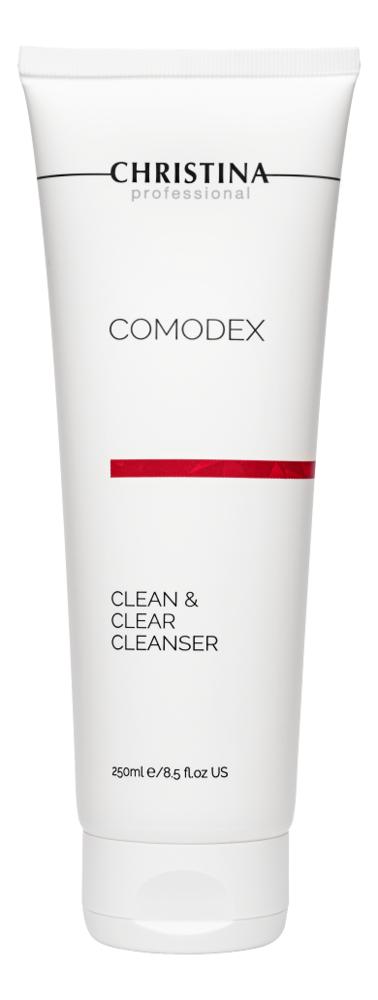 Очищающий гель для лица Comodex Clean & Clear Cleanser 250мл comodex clean clear cleanser очищающий гель