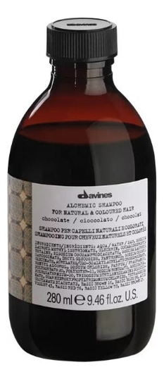 Купить Шампунь для окрашенных волос Alchemic Shampoo For Natural & Coloured Hair (chocolate): Шампунь 280мл, Шампунь для окрашенных волос Alchemic Shampoo For Natural & Coloured Hair (chocolate), Davines