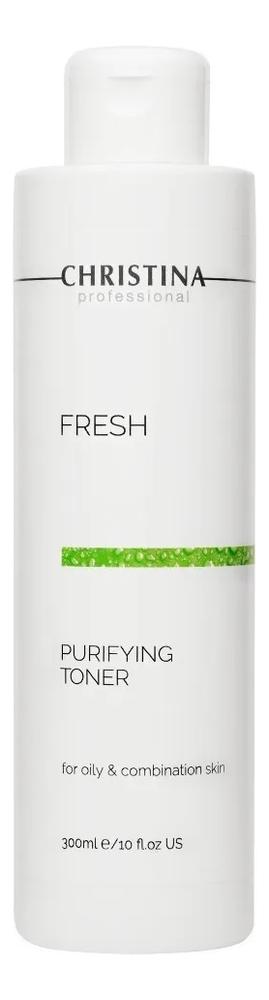 Купить Очищающий тоник для жирной кожи лица Fresh Purifying Toner For Oily Skin 300мл, CHRISTINA