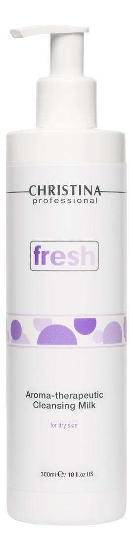 Очищающее молочко для сухой кожи лица Fresh Aroma-Theraputic Cleansing Milk 300мл