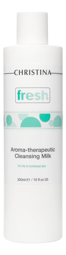 Очищающее молочко для жирной кожи лица Fresh Aroma Theraputic Cleansing Milk 300мл очищающее молочко для жирной кожи лица fresh aroma theraputic cleansing milk 300мл