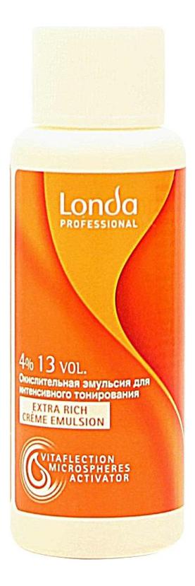 Окислительная эмульсия для волос Londacolor Extra Rich Creme Emulsion 60мл: Эмульсия 4% 13Vol недорого