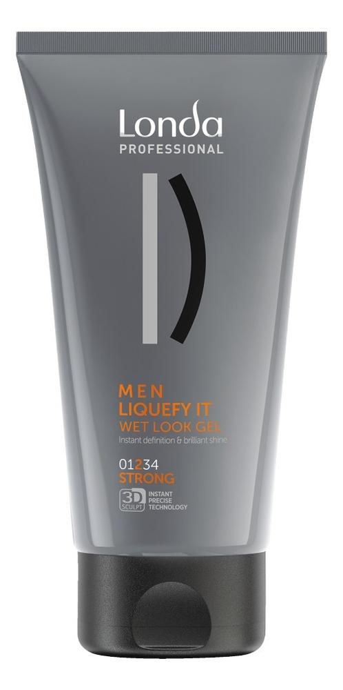 Купить Гель-блеск для волос Men Liquefy It Wet Look Gel 150мл, Londa Professional