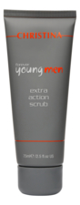 CHRISTINA Скраб для лица Forever Young Men Extra Action Scrub 75мл