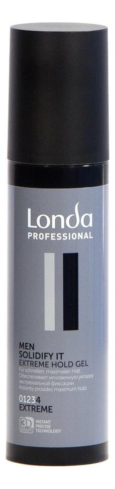 Купить Гель для укладки волос Men Solidify It Extreme Hold Gel 100мл, Londa Professional