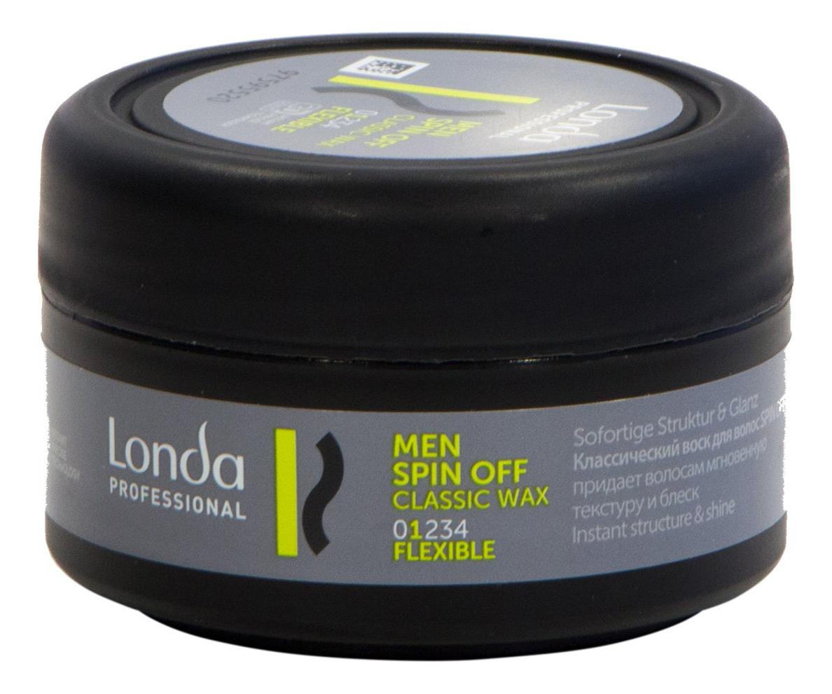 Классический воск для укладки волос Men Spin Off Classic Wax 75мл