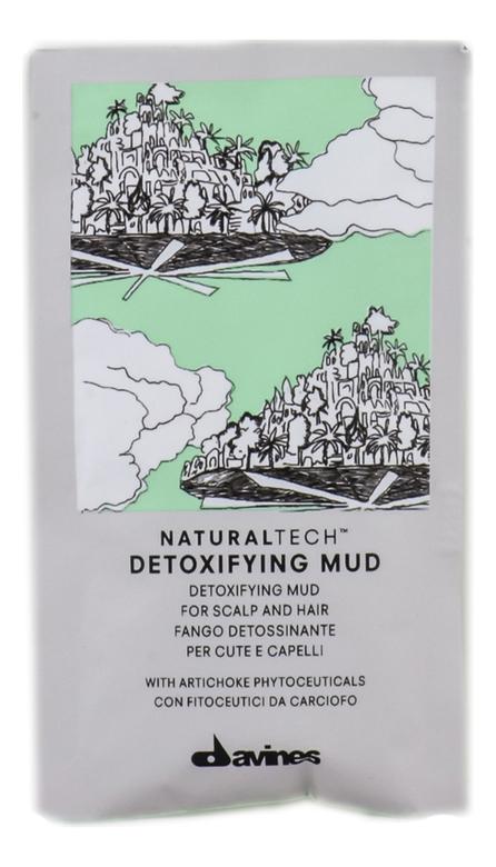 Купить Глубоко очищающая грязь для волос Natural Tech Detoxifying Mud 6*50мл, Davines