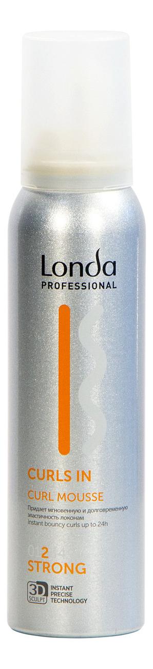 Купить Мусс для кудрявых волос Curls In Curl Mousse 150мл, Londa Professional