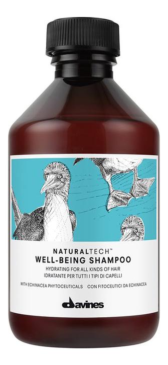 Купить Шампунь для волос Natural Tech Well-Being Shampoo 250мл, Davines