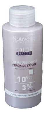 Окислительная эмульсия для окрашивания волос Color Effective Developer Cream Peroxide 3%: Эмульсия 100мл