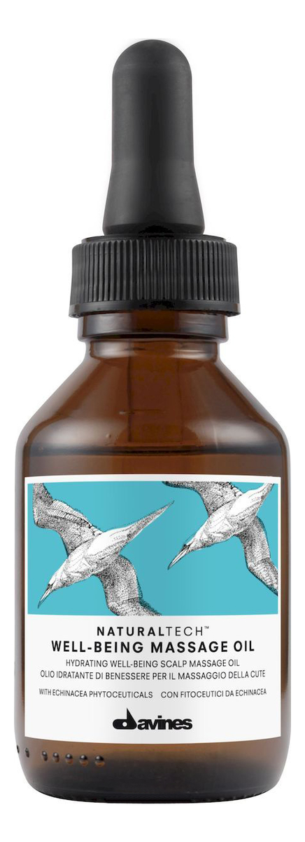 Купить Массажное масло для кожи головы Natural Tech Well-Being Massage Oil 100мл, Davines