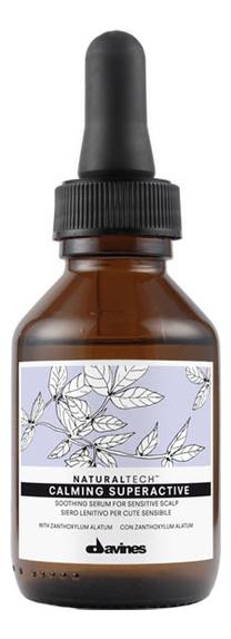 Купить Успокаивающая суперактивная сыворотка для кожи головы Natural Tech Calming Superactive 100мл, Davines