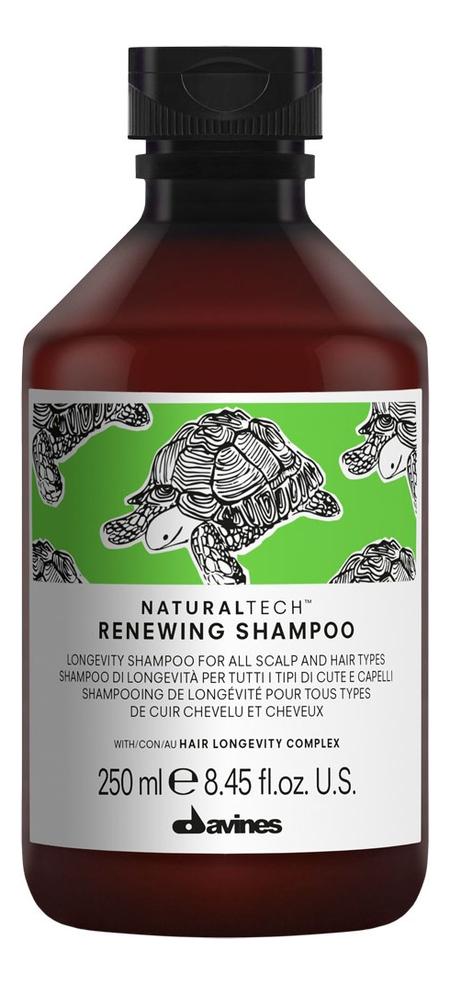 Купить Шампунь для волос Natural Tech Renewing Shampoo 250мл, Davines