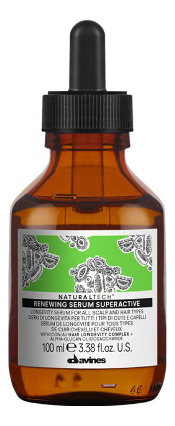 Купить Суперактивная сыворотка для кожи головы Natural Tech Renewing Serum Superactive 100мл, Davines