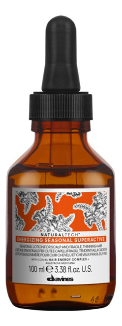 Купить Суперактивный лосьон для волос и кожи головы Natural Tech Energizing Seasonal Superactive 100мл, Davines