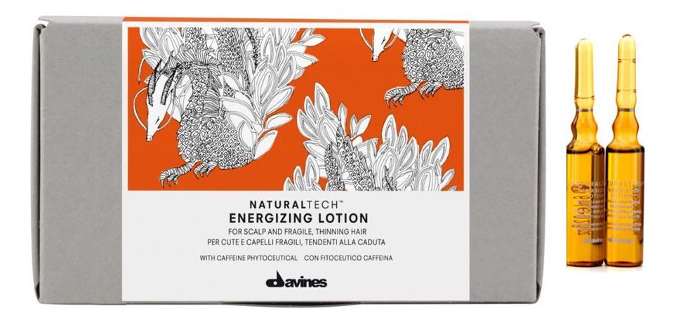 Купить Суперактивный лосьон для волос и кожи головы Natural Tech Energizing Seasonal Superactive 12*6мл, Davines