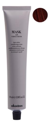 Краска для волос Mask With Vibrachrom 100мл: 6.06 Natural Red Dark Blonde