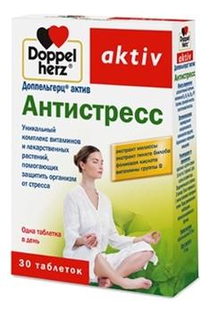 Биодобавка Антистресс Aktiv 30 таблеток фото