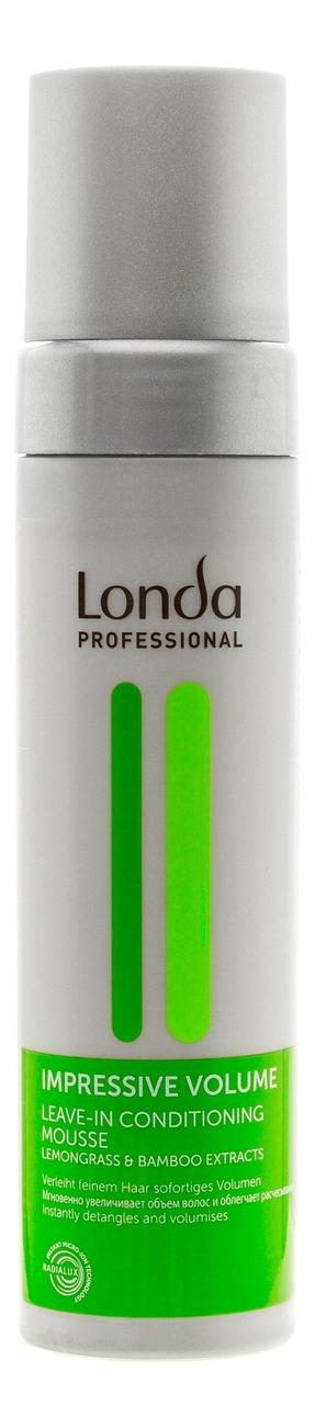 Несмываемый мусс-кондиционер для объема волос Impressive Volume Leave-In Conditioning Mousse 200мл