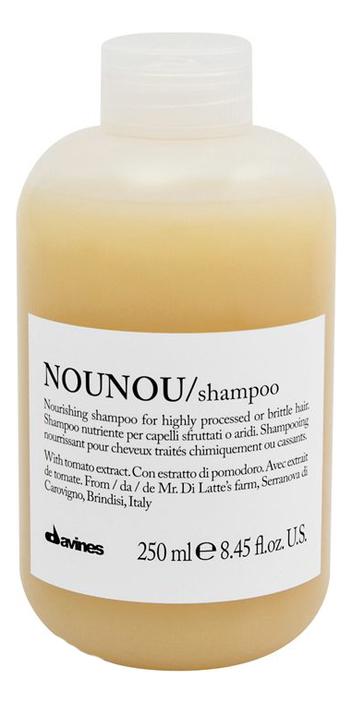 Купить Питательный шампунь для волос Nounou Shampoo: Шампунь 250мл, Davines