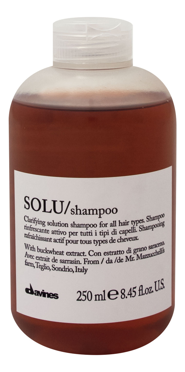 Купить Освежающий шампунь для волос Solu Shampoo 250мл, Davines