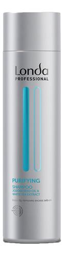 Купить Очищающий шампунь для жирных волос Scalp Purifying Shampoo 250мл, Londa Professional