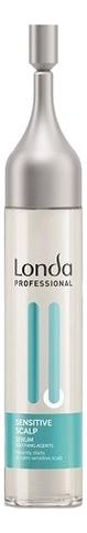 Купить Сыворотка для чувствительной кожи головы Sensitive Scalp Serum With Soothing Agents 6*9мл, Londa Professional