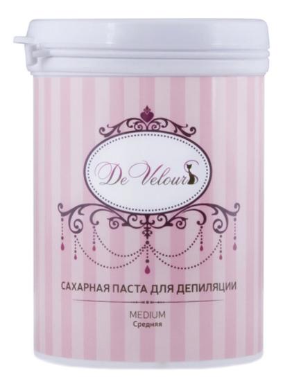Купить Сахарная паста для депиляции Средняя Medium: Паста 330г, De Velours