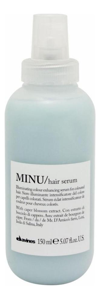 Купить Несмываемая сыворотка для окрашенных волос Minu Hair Serum 150мл, Davines