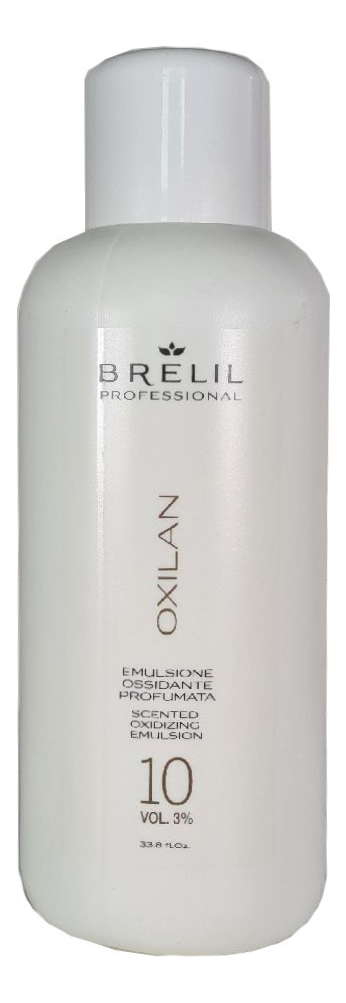 Окислитель для краски Colorianne Oxilan 10 Vol: Окислитель 1000мл, Brelil Professional  - Купить