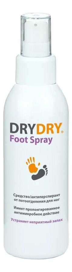 Средство от потовыделения для ног Foot Spray 100мл (ментол) фото