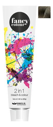 Колорирующее средство для волос Fancy Colour 2 In 1 Bleach & Colour 80г: Пепельный блонд фото