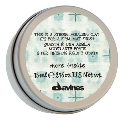 Купить Моделирующая глина для волос More Inside Strong Moulding Clay 75мл, Davines