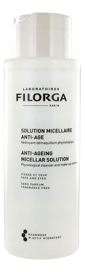 Фото - Мицеллярная вода для снятия макияжа Anti-Ageing Micellar Solution 400мл filorga раствор anti ageing micellar solution филорга мицеллярный анти аж 400 мл