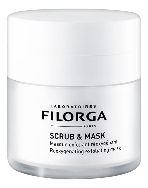 Отшелушивающая скраб-маска для лица Scrub & Mask Reoxygenating Exfoliating 55мл