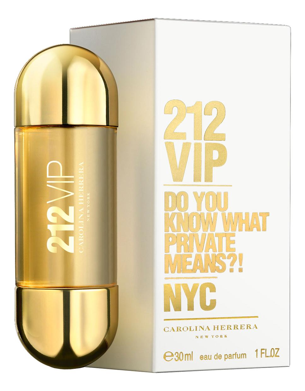 цена Carolina Herrera 212 VIP Woman: парфюмерная вода 30мл онлайн в 2017 году