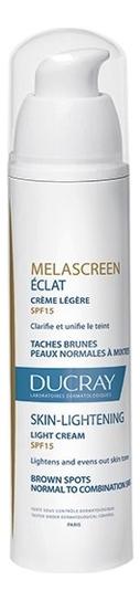 Отбеливающий крем для лица Melascreen Eclat Creme Legere SPF15 40мл крем медовея отбеливающий где купить