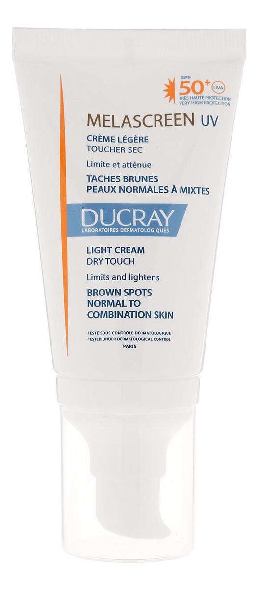 Купить Фотозащитный крем для лица Melascreen Photoprotection Creme Legere SPF50+ 40мл, Ducray