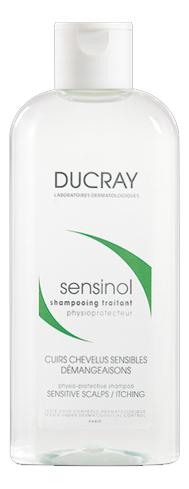 Шампунь для волос Sensinol Shampooing Traitant 200мл шампунь для волос ducray sensinol сенсинол 200 мл при повышенной чувст волосистой части головы