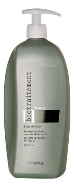 Шампунь для придания объема волосам Bio Traitement Volume Shampoo: Шампунь 1000мл шампунь для придания холодных оттенков service line shampoo cold shade shampoo 1000мл