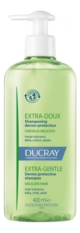 Шампунь для волос Extra-Doux Shmpooing Traitant Usage Frequent: Шампунь 400мл ducray неоптид лосьон от выпадения волос для мужчин 100 мл