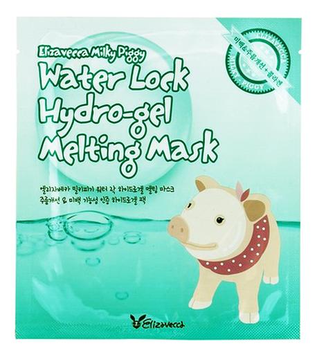 Купить Гидрогелевая маска для лица Milky Piggy Water Lock Hydro-Gel Melting Mask 30г: Маска 1шт, Elizavecca