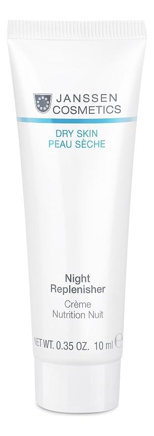 Питательный ночной регенерирующий крем для лица Dry Skin Night Replenisher: Крем 10мл крем ночной регенерирующий