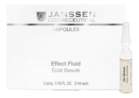 Ампульный концентрат для лица Ampoules De-Stress Peau: Концентрат 3*2мл janssen cosmetics skin excel glass ampoules