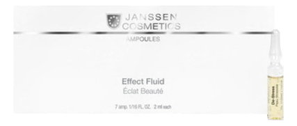 Ампульный концентрат для лица Ampoules De-Stress Peau: Концентрат 7*2мл janssen cosmetics skin excel glass ampoules