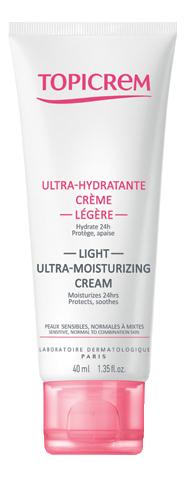 Ультра-увлажняющий крем для лица Ultra-Hydratante Creme 40мл успокаивающий крем для лица calm ultra hydratante creme apaisante 40мл
