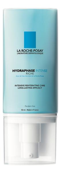 Увлажняющий крем для лица Hydraphase Intense Riche 50мл увлажняющий крем для сухой кожи лица hydraphase uv intense rich spf20 50мл
