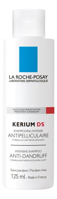 Интенсивный шампунь против перхоти Kerium DS 125мл kerium anti chute la roche posay
