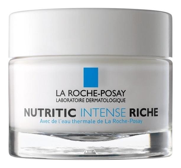 Увлажняющий крем для лица Nutritic Intense Rich 50мл увлажняющий крем для сухой кожи лица hydraphase uv intense rich spf20 50мл